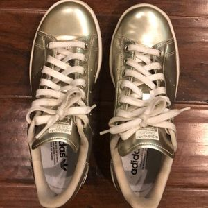 Gold Stan Smith Adidas